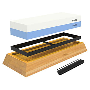 3. Culinary Obsession Whetstone Knife Sharpening Stone