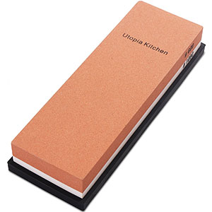 9. Utopia Kitchen Double-Sided Knife Sharpening Stone