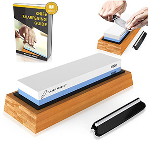 2. Sharp Pebble Premium Knife Sharpening Stone