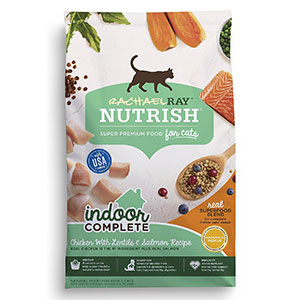 10. Rachael Ray Nutrish Complete Natural Dry Cat Food