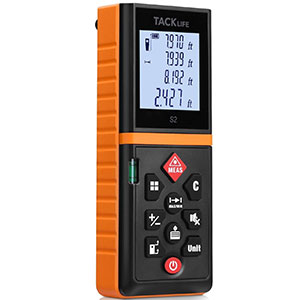 5. Tacklife 196 Ft Advanced Laser Measure