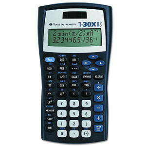 1. Texas Instruments Scientific Calculator (TI-30X IIS)