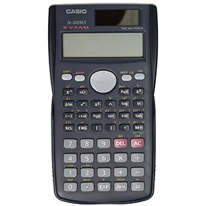 6. Casio fx-300MS Scientific Calculator