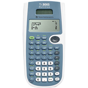 3. Texas Instruments TI-30XS Scientific Calculator
