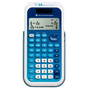 10. Texas Instruments TI-34 Scientific Calculator
