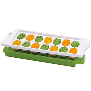 5. OXO Baby Food Freezer Tray with Protective Cover