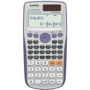 4. Casio Engineering/Scientific Calculator (fx-115ES PLUS)