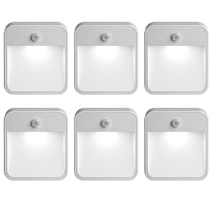 10. Mr. Beams Battery-Powered Motion Sensor LED Night Light