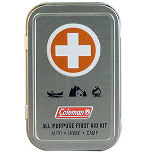9. Coleman All Purpose First Aid Kit (27 Piece)