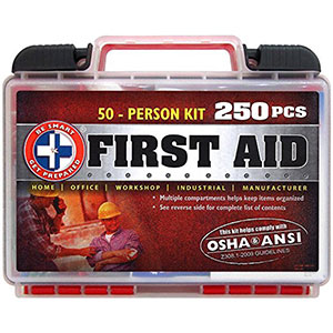 6. Be Smart Get Prepared First Aid Kit (250 Piece)