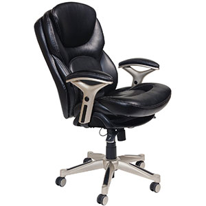 10. Serta Black Executive Office Chair