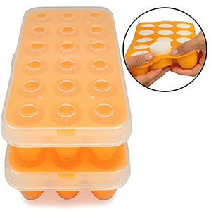 9. Little Sprout Baby Food Storage Tray (2 Pack)