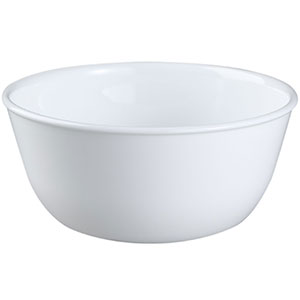 10. Corelle Coordinates 1032595 28-Ounce White Soup Bowl (Set of 6)