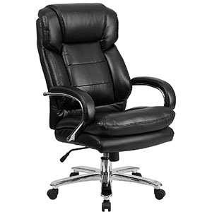 6. Flash Furniture HERCULES Black Chair