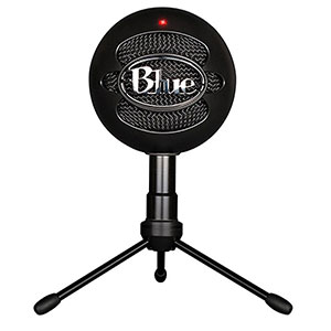 4. Blue Snowball iCE Condenser Microphone (Black)