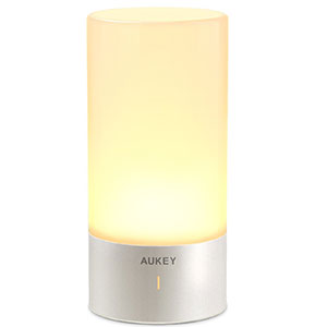 3. AUKEY Touch Sensor Table Lamp