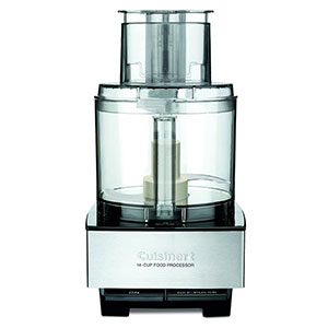 6. Cuisinart DFP 14BCNY Food Processor 14-Cup, Brushed Stainless Steel