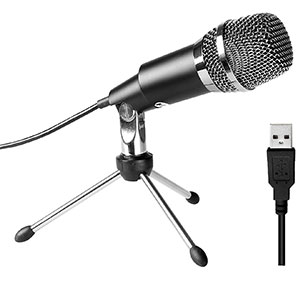 2. Fifine K668 USB Microphone