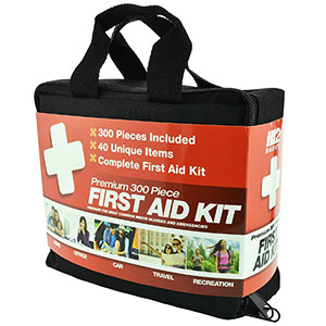 5. M2 Basics First Aid Kit (300 Piece)