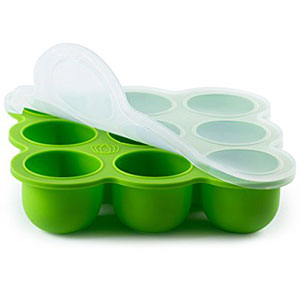 8. BabyBliss 2.5 Oz Baby Food Freezer Storage Tray