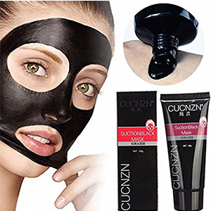 4. Mabox CUCNZN Suction Black Mask (60 g)