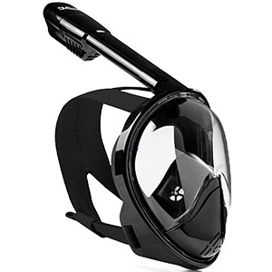 9. DIVELUX Original Full Face Snorkeling and Diving Mask