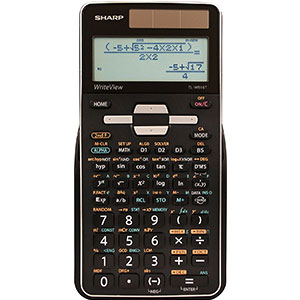 8. Sharp Advanced Scientific Calculator (EL-W516TBSL)