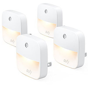 4. eufy Plug-In Warm White LED Nightlight