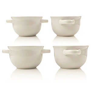 7. Crock-Pot 22-Ounce Pearl White Soup Bowls (Set of 4)