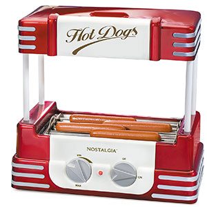 2. Nostalgia Hot Dog Roller and Bun Warmer (RHD800)