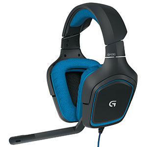 1. Logitech G430 DTS Headphone