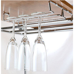 1. Deco Brothers 2PK Single Wine Glass Holder Rack