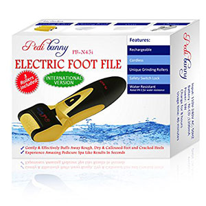 7. Powerful Rechargeable Electric Callus Foot File For Dry and Callused Feet