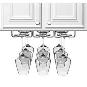 6. Sorbus Wine Glass Rack and Stemware Holder