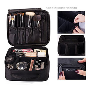 Rownyeon Portable Travel Makeup Bag