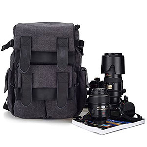 2. BESTEK Dslr SLR Waterproof Camera Backpack