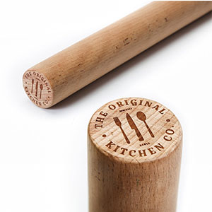 8. The Original Straight Rolling Pin