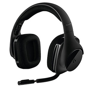 6. Logitech G533 Wireless Gaming Headset