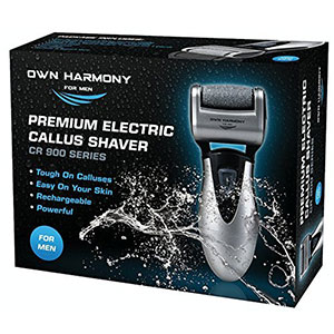 2. Own Harmony Callus Remover (Electric) & Rechargeable Tool For Men