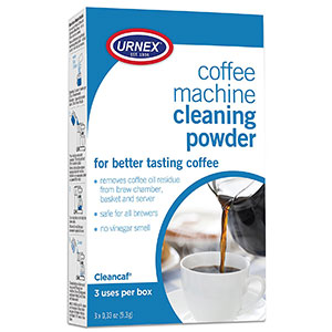 2. Urnex Coffee Maker Cleaner (3 Packets)