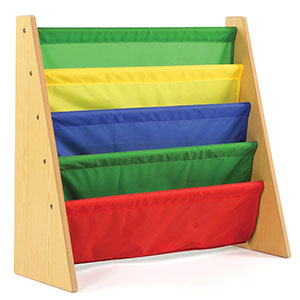 1. Tot Tutors Kids Storage Bookshelf