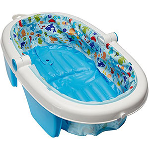 10. Summer Infant Inflatable Baby Bath