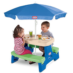 6. Little Tikes Junior Picnic Table