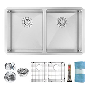4. Zuhne 32-Inch Stainless Steel Kitchen Sink