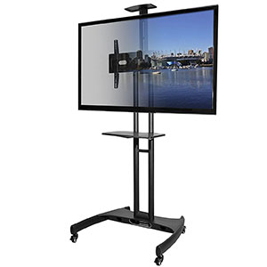 3. Kanto MTM65PL TV Stand with Wheels and Mount