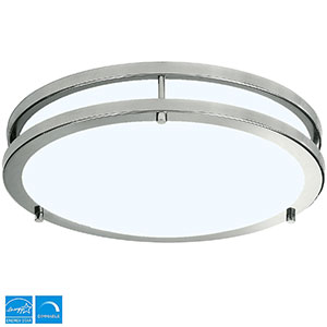 1. Light Blue USA LED Flush Mount Ceiling Light (LB72119)