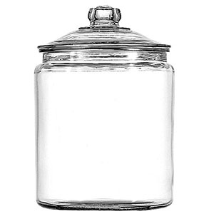 5. Anchor Hocking Set of 2 Heritage Hill Jar (1 Gallon)