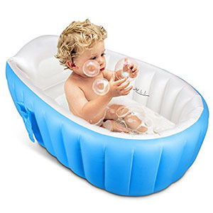 4. Topist Mini Inflatable Baby Bathtub