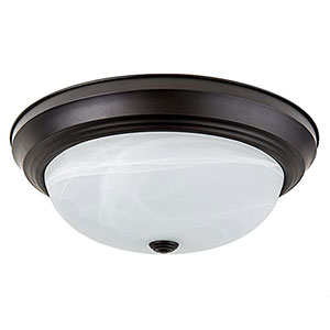 5. Light Blue USA LED Flush Mount Ceiling Fixture (LB72129)