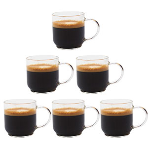 10. Zenco Coffee Glass Cup